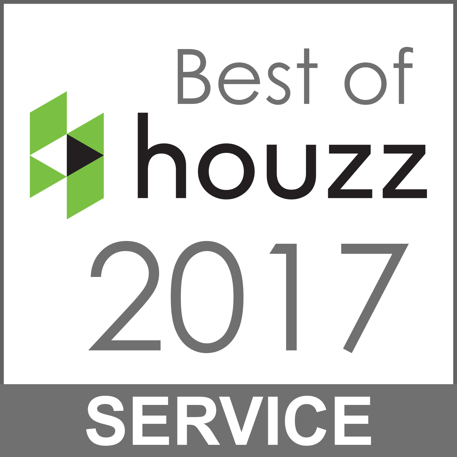 2017 Best of Houzz Service Award