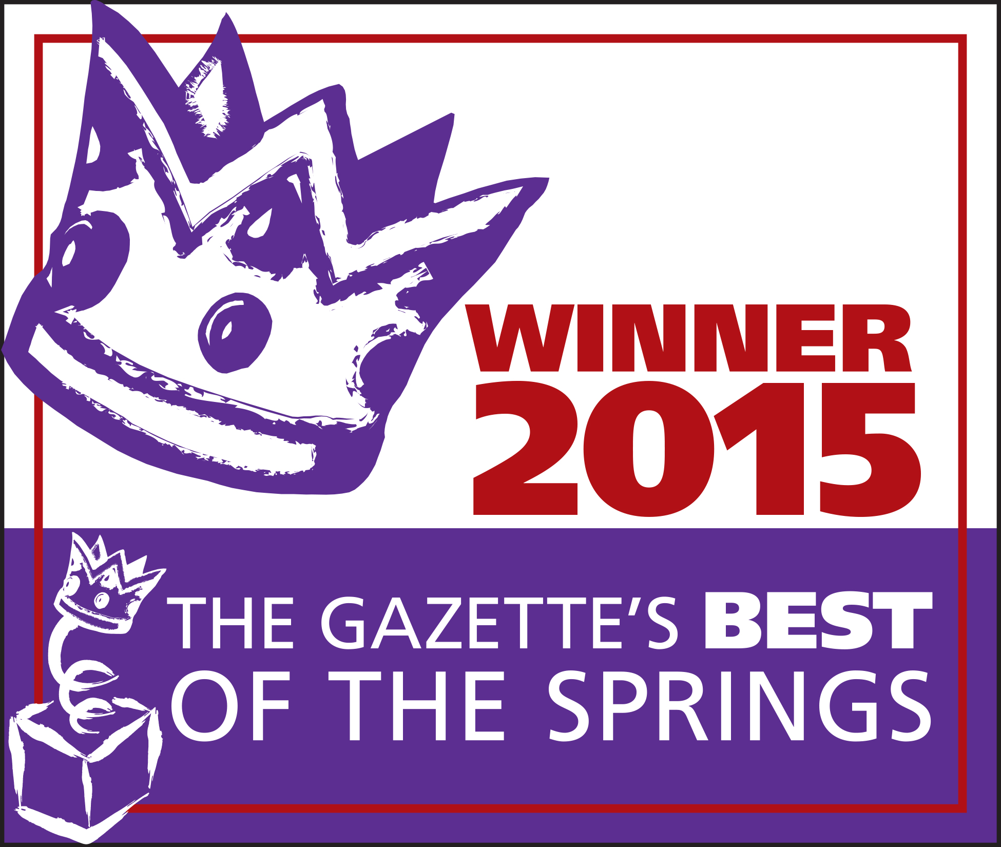 2015 Winner for The Gazette's Best of the Springs Award