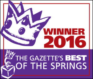 2016 Winner for The Gazette's Best of the Springs Award