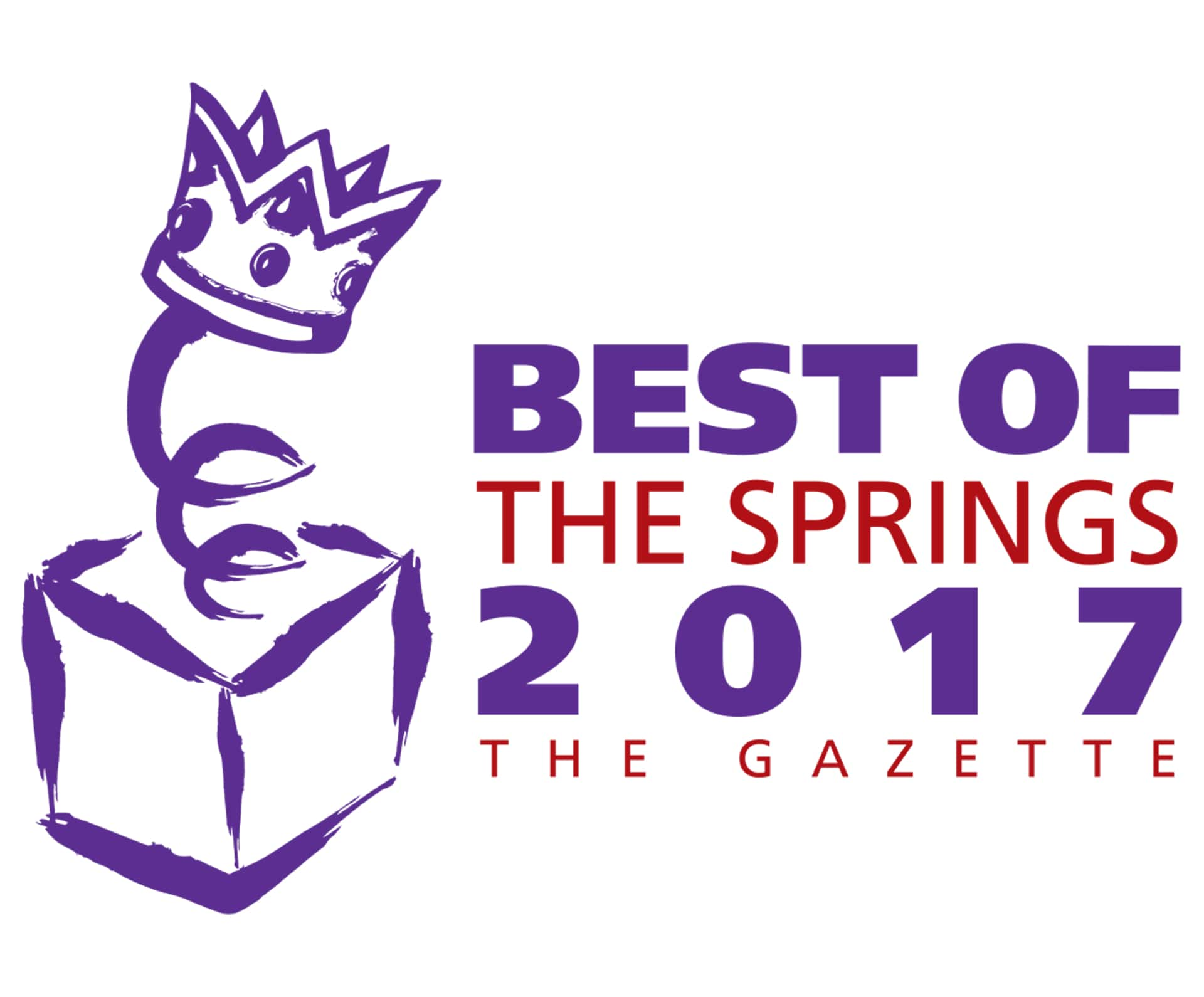 2017 Winner for The Gazette's Best of the Springs Award