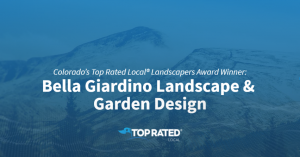 Top Rated - Landscapers in Colorado Springs - Award