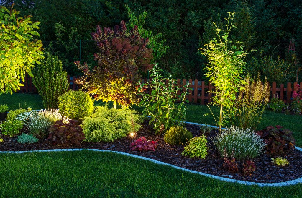 Colorado Springs Garden Lighting