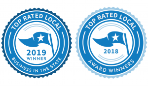 2018 & 2019 Top Rated Local Award Winner for Landscaper